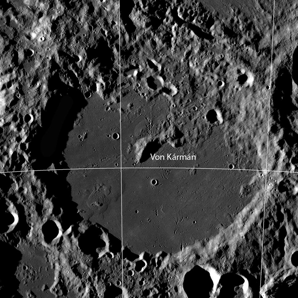 Craterul Von Karman