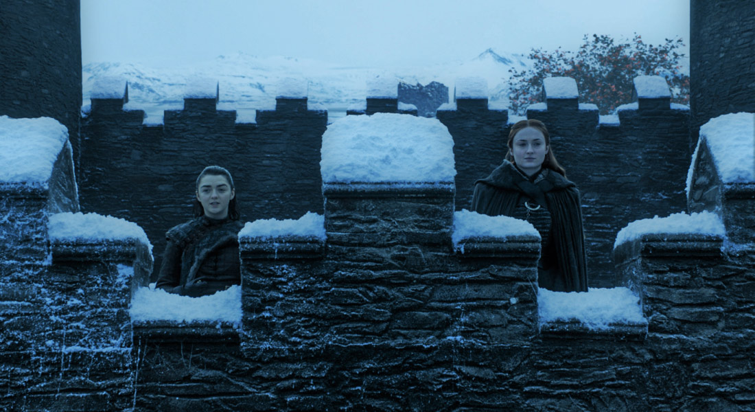 Game of Thrones sezonul 8 - Winterfell