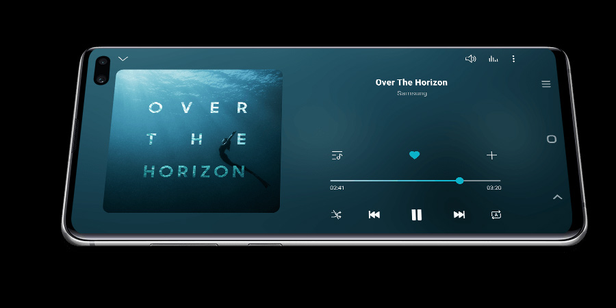 Music player Galaxy S10