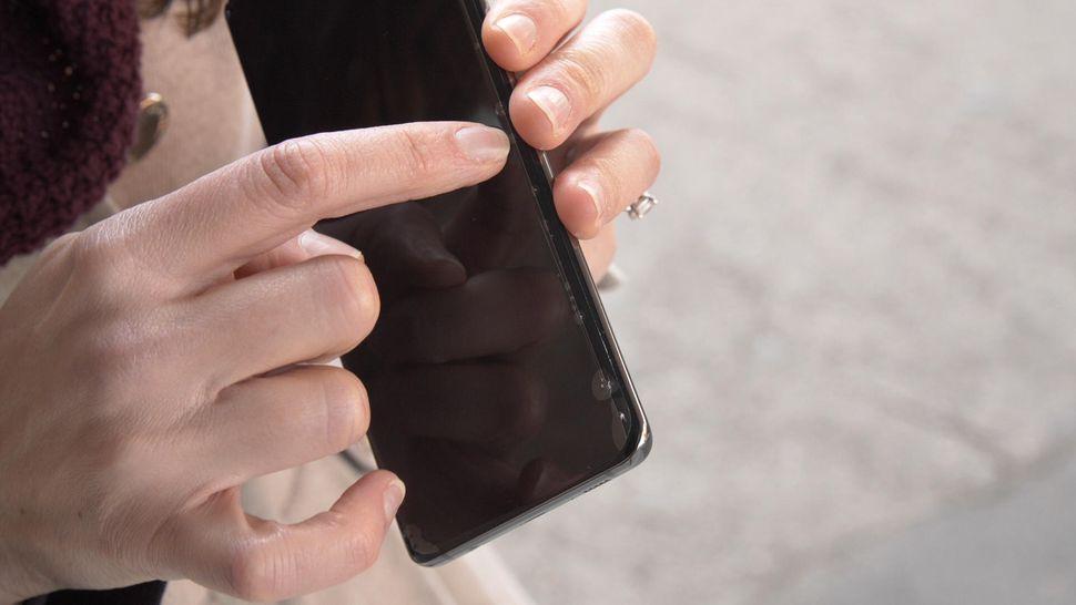 Drop test Galaxy S10 Plus folie sticlă