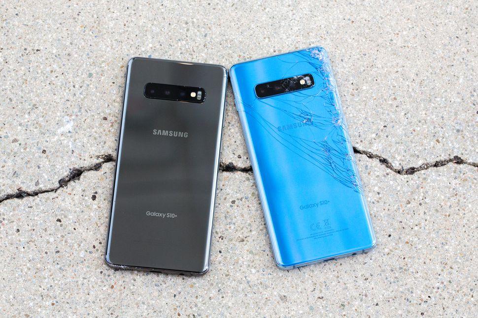 Rezultat final drop test Samsung Galaxy S10 Plus