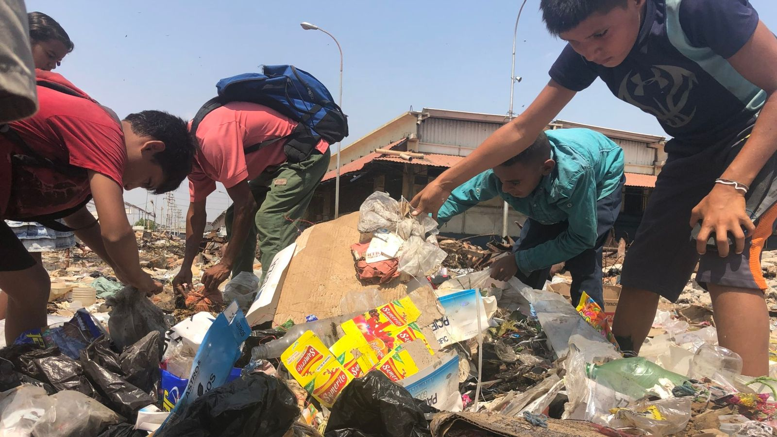 Foametea din Venezuela