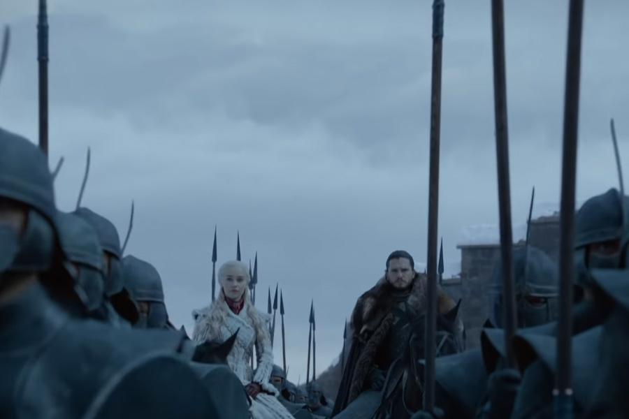 GOT sezon 8 - John Snow și Daenerys