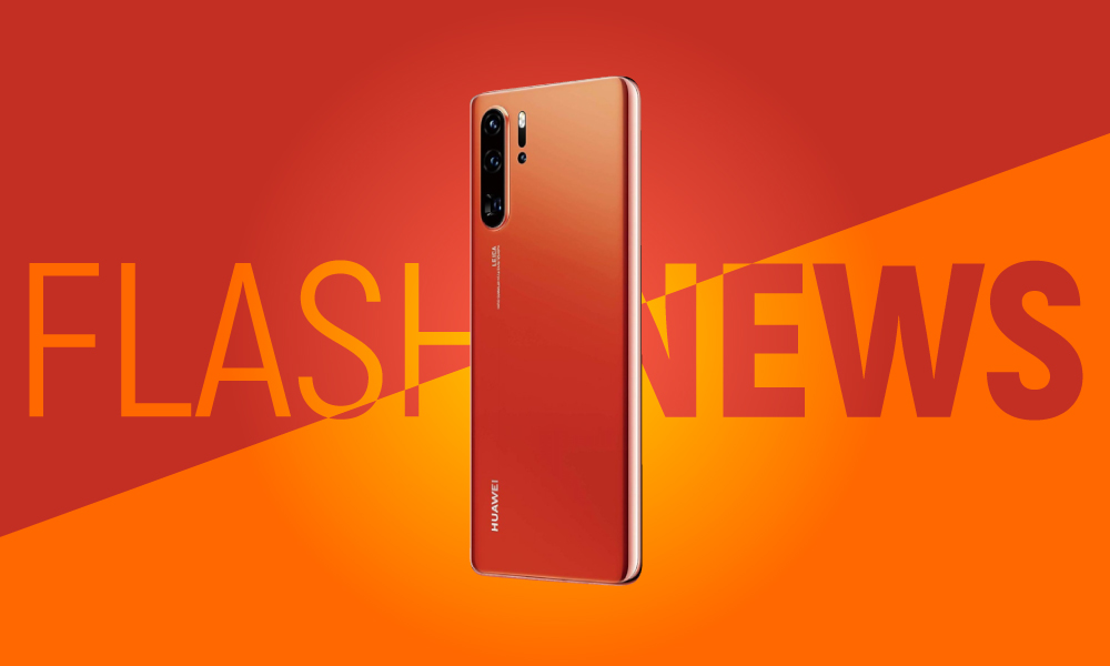 Huawei P30 Amber Sunrise Flashnews.ro