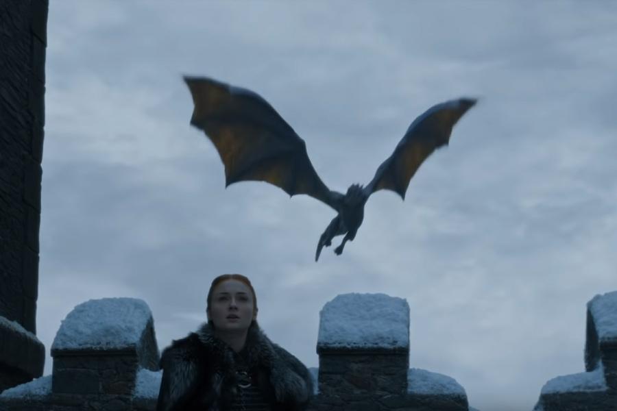 Sansa Stark în sezonul 8 din Game of Thrones