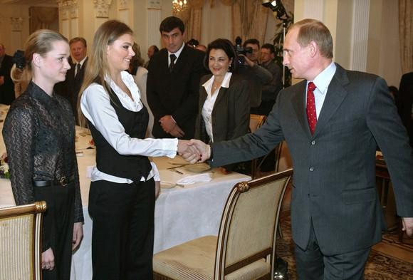 Alina Kabaeva Vladimir Putin