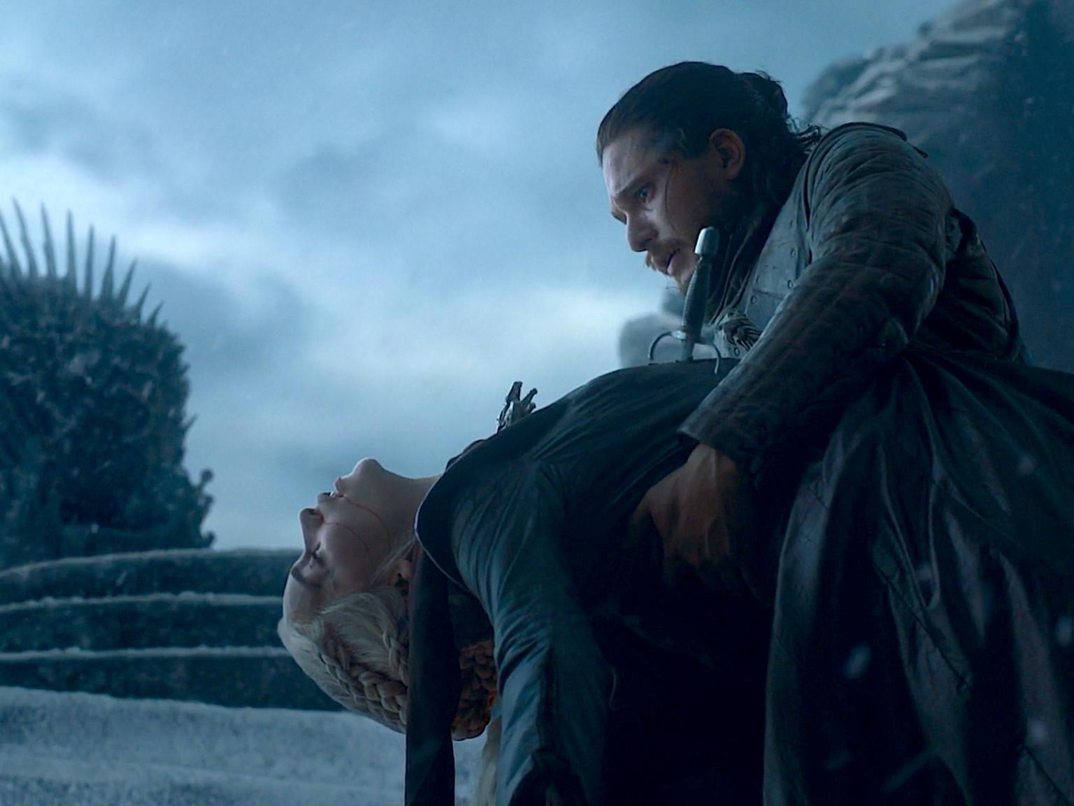 Jon Snow și Daenerys