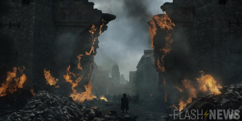 Kings Landing în flăcări