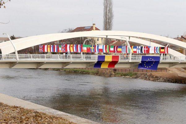 Podul Centenarului Oradea inaugurare