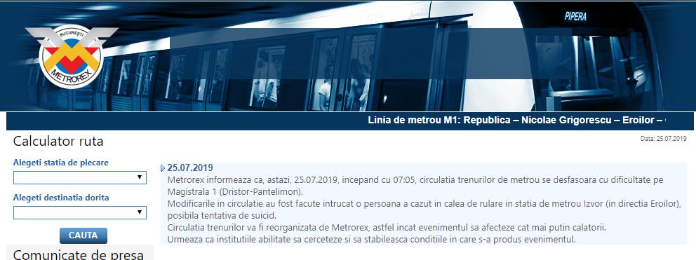 metrou Izvor