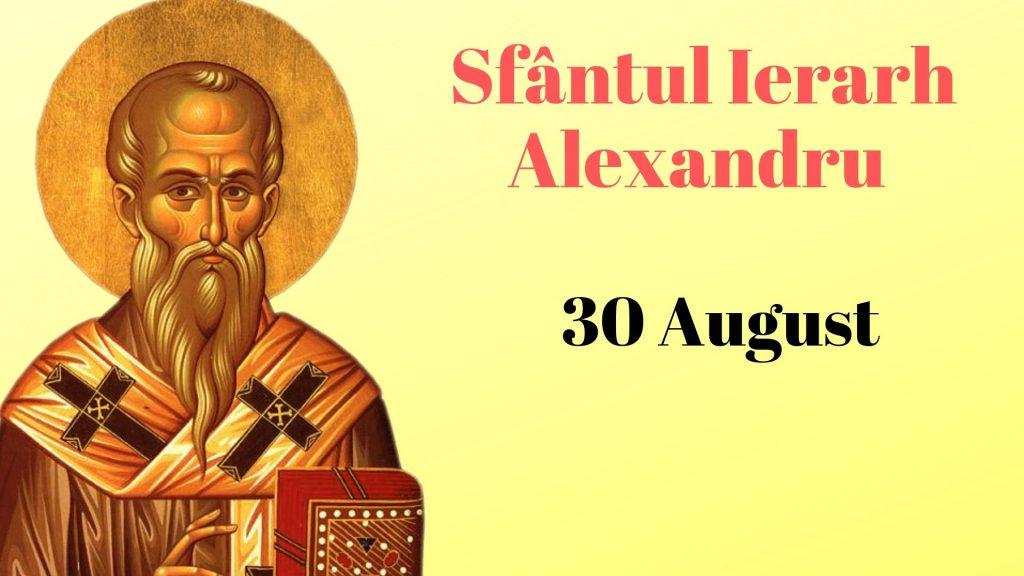 Sfântul-Ierarh-Alexandru-30-august