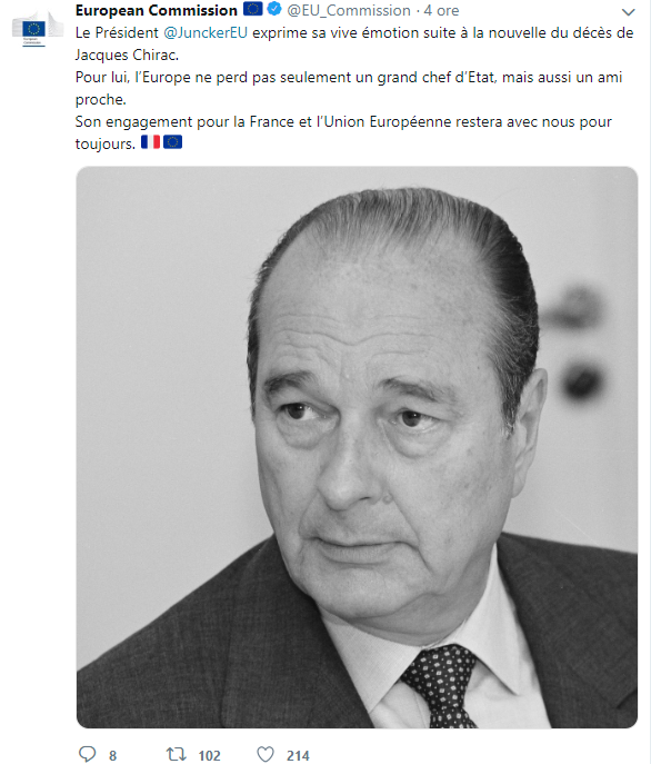 JACQUES CHIRAC TWITTER