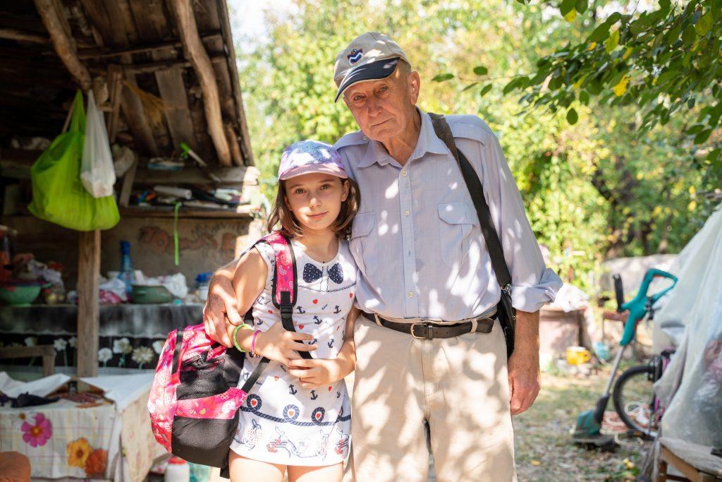 Visuri la Cheie Isabela si bunicul Petre