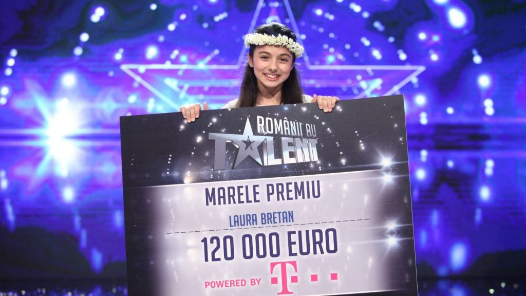 Laura Bretan castiga Romanii au Talent 2016