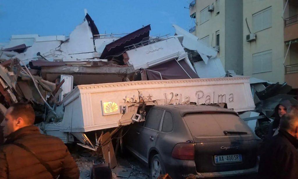 cutremur devastator in albania tirana