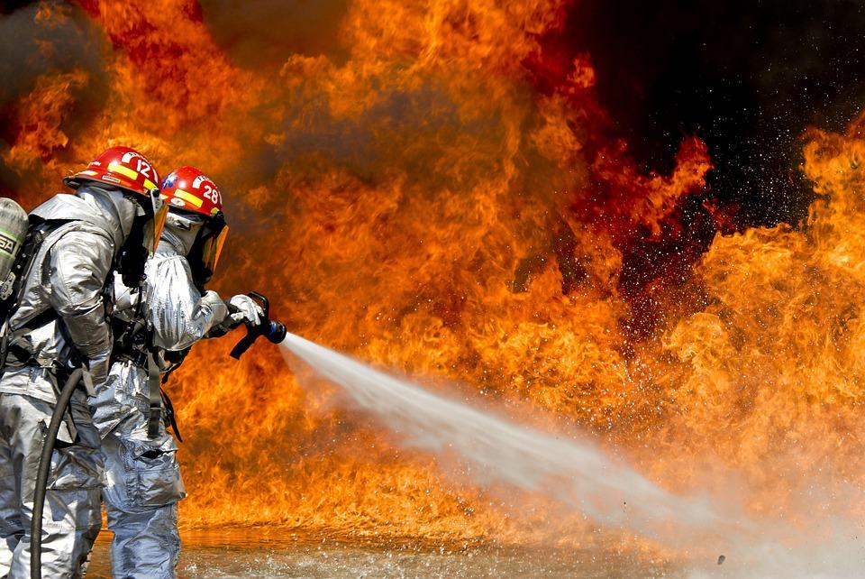incendiu in Campia Turzii