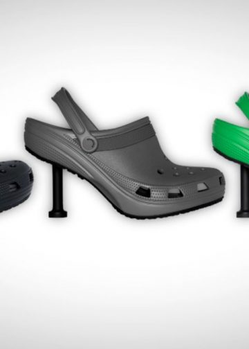 Balenciaga si Crocs fac echipa in productia de papuci cu toc