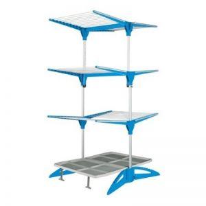 Uscător haine vertical Maxi Navy Blue Meliconi